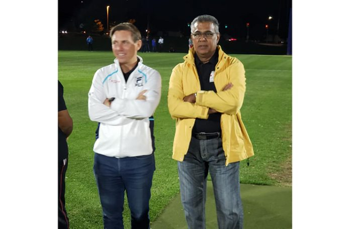 Guyanese-Canadian Praim Persaud Helps Brampton Get Its First LED-lit Full-Size Cricket Field