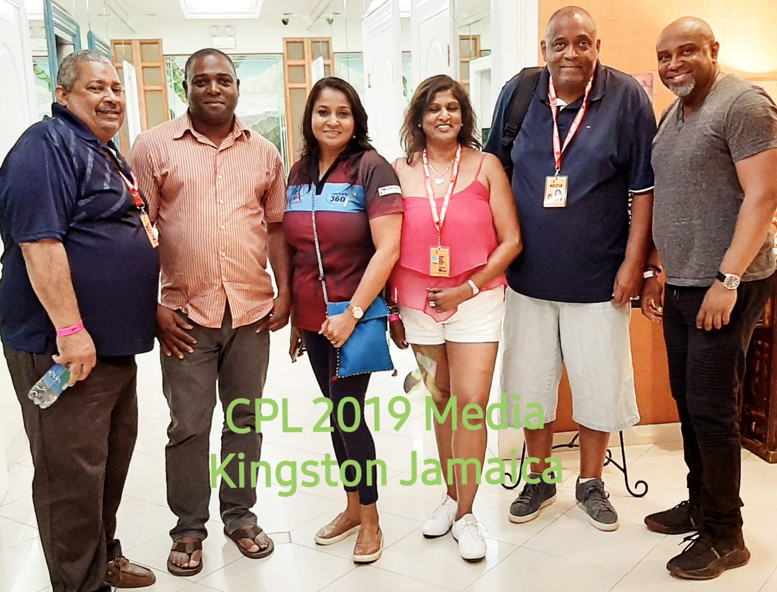 Journalists Hosted In Kingston By Jamaica Tourism For Tallawahs 2019 Hero CPL Home Matches!