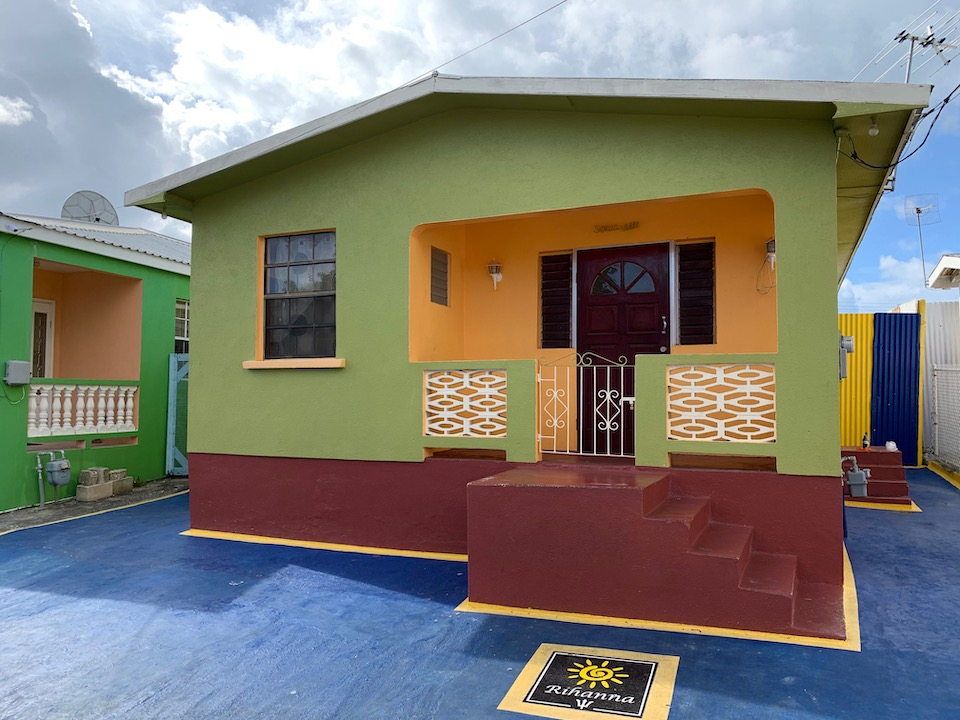 In Barbados The House On Rihanna Drive
