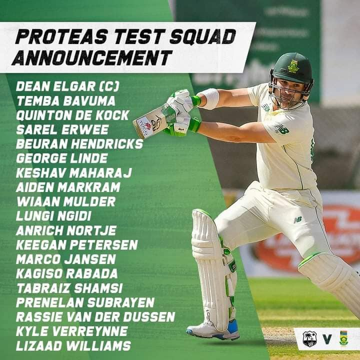 South Africa's Caribbean Tour Squads Announced!