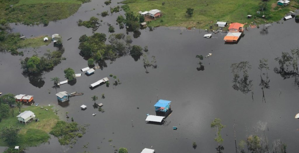 Guyana Declares Flooding A National Disaster!